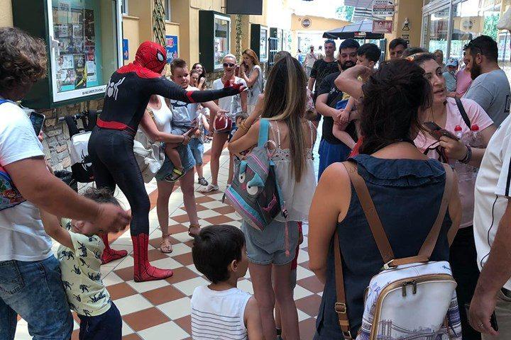O Spiderman στο Old City!